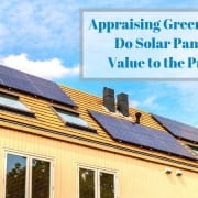 Green Solar Panel Appraisals Boston Massachusetts
